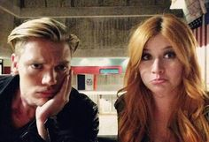 Dom Sherwood and Kat McNamara / Jace and Clary in Shadowhunters Clary Fray, Clary Et Jace, Cassandra Clare, Jace Lightwood, Isabelle Lightwood, Shadowhunters Tv Show, Shadowhunters The Mortal Instruments, Constantin Film, Fangirl