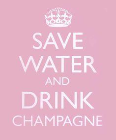 Lol! GOOD Champagne!!!