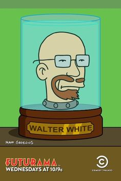Walter White + Futurama = awesome