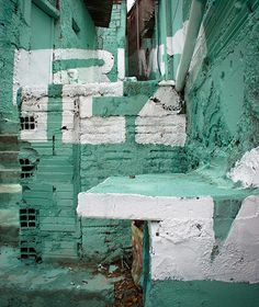 Madrid Spain based artist collective Boa Mistura gives a slum in Brazil a typographic makeover