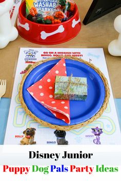 AD: Are you planning a Disney Junior Puppy Dog Pals birthday party? Then check out this list of 5+ Easy Puppy Dog Pals Party Ideas for any special occasion! #DisneyJuniorFRiYAY