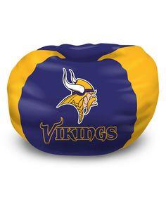 Love This Minnesota Vikings Bean Bag Chair On Zulily Zulilyfinds