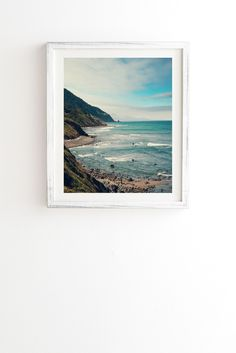 Catherine Mcdonald California Pacific Coast Highway Framed Wall Art | DENY Designs Home Accessories