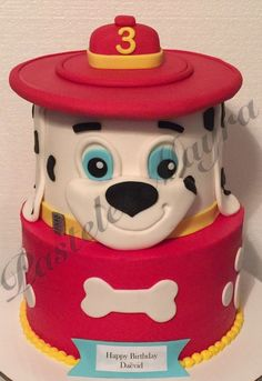 Manny's birthday party Twin Birthday Cakes, Paw Patrol Birthday Cake, Luau Birthday, Paw Patrol Party, Cake Disney, Birth Cakes, Torta Paw Patrol, Fete Emma, Pink Velvet Cupcakes