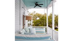 Raise the Roof | Whether it's winter or summer, spring or fall, living on the coast is practically a license to live outdoors. Does your alfresco space stack up? Here are 20 designer-backed secrets to pump up the pretty on your porch, patio, deck, or backyard.