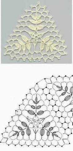 Crochet everything. Crochet Motif Patterns, Granny Square Crochet Pattern, Crochet Diagram, Crochet Chart, Crochet Squares, Pull Crochet, Crochet Cross, Filet Crochet, Irish Crochet