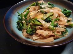 Pad See Ew (rice noodles with greens)
