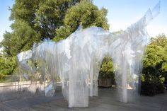 BAN / ORPROJECT    Ban is a pavilion which has... - instalaciones efimeras