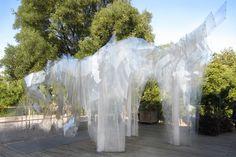 BAN / ORPROJECT  Ban is a pavilion which has... - instalaciones efimeras
