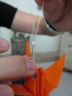 How to hang my 1,000 origami cranes