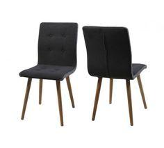Sue Spisebordsstol - Mørk grå - flot spisebordsstol i mørkegrå