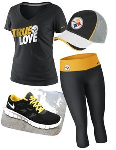 The Ultimate Steelers Fan right here☺ Pitsburgh Steelers, Here We Go Steelers, Steelers Stuff, Steelers Season, Sport Outfits, Cute Outfits, Best Football Team, Steeler Nation, Black N Yellow