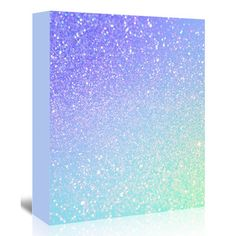 "East Urban Home Glamour Shiny Sparkley  Graphic Art on Wrapped Canvas Size: 48"" H x 32"" W x 1.25"" D"