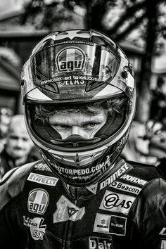 Habermann & Sons Classic Motorcycles and Cafe Racer Motorcycle, Motorcycle Art, Racing Motorcycles, William Dunlop, Biker Helmets, Guy Martin, Biker Quotes, Road Racing, Motogp