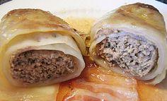Kohlrouladen  (Stuffed Cabbage Rolls)
