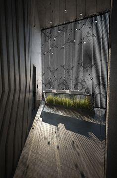 Public toilet by Aleksandra Śliwińska and Ola Przybyła, via Behance