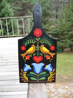 I think this one will look the best on the door shape. afsimg104_thumb3  modern rosemaling