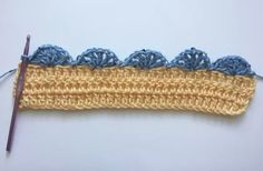 Crochet Shell Edging