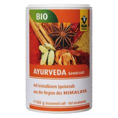 Raab Vitalfood Gewürzsalz Ayurveda Ayurveda, Nutrition, Salt, Products, Impala