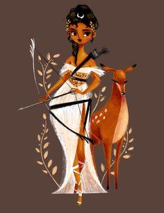 """Benedetta Capriotti-""""Artemis, the hunt for hunters :)"""""""