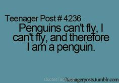 I wish I was a penguin