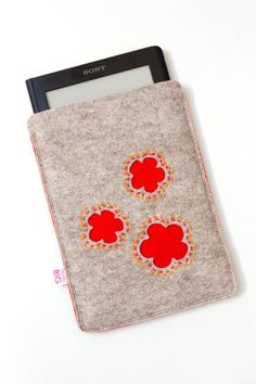 iPad Mini / E reader cover / sleeve customized to fit by StudioBIG, €23.50