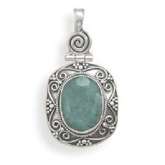 Oxidized Rough Cut Emerald Pendant. Get the lowest price on Oxidized Rough Cut Emerald Pendant and other fabulous designer clothing and accessories! Shop Tradesy now