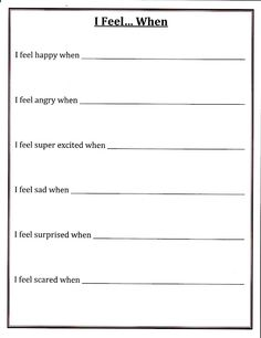 Worksheet Counseling Worksheets feelings other and the ojays on pinterest