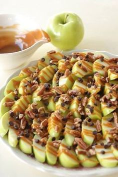 Apple Nachos and more delicious fall treats.