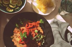 Food11a.rösti with stew and grilled zucchini by zibi t on 500px