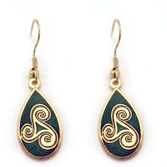 Joyeria Plata y Azabache Artesania Galicia Home Page Silver and Black Jet Crafts Jewelry Crafts Tax Free, Jewelry Crafts, Fashion Art, Celtic, Enamel, Drop Earrings, Jewels, Spiral, Silver
