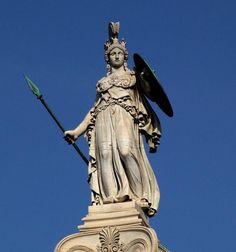 A review of athena the goddess of war and wisdom