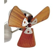 Matthews Fan Company AT-FH-W Replacement Wooden Fan Head and Blade Set from the Atlas Collection