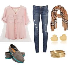 highschool typical outfit, created by smepley on Polyvore