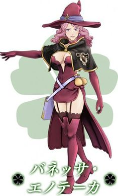 Vanessa black clover magic knight Vanessa Black, Seven Knight, Black Clover Anime, Female Fighter, Black Cover, Manga, Anime Characters, Princess Zelda, Cosplay