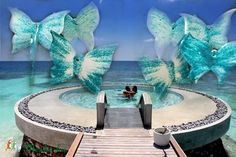 karibi pillangós szélcsengő #windchime (Foenx) - Meska.hu