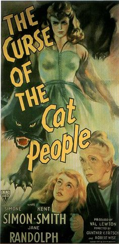 """The Curse of the Cat People"", fantasy horror film by Robert Wise (USA, 1944)"