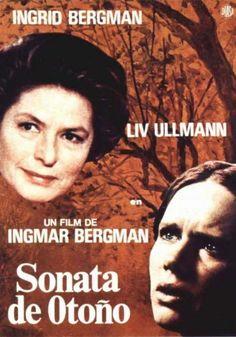 Sonata de otoño (1978) Alemaña. Dir: Ingmar Bergman. Drama. Familia - DVD CINE 407 e DVD CINE 610-XIII