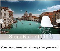 Sunlit Venice Canal Wall Mural wallpaper