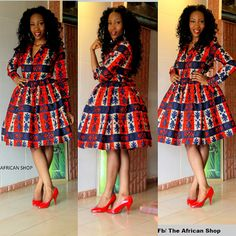 Ngongang Shirt Dress by THEAFRICANSHOP on Etsy, £60.00