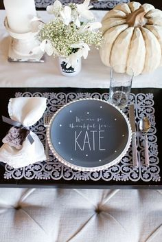 13 Amazing Thanksgiving Table Decor. Thanksgiving Table SettingsThanksgiving IdeasThanksgiving ... & A Gilded u0026 Glamorous All Hallowsu0027 Eve Wedding | Thanksgiving table ...