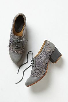 Love these, but I need another pair of shoes like I need a hole in my head...Laceside Oxfords #anthropologie