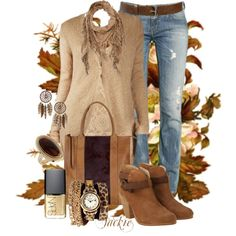 """Just Another Fall Day"" by jackie22 on Polyvore"