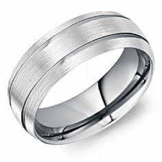 Find the best wedding rings for men and women at CrownRing. Shop our masterfully designed and modishly brilliant matrimony jewelry for men and women. Cool Wedding Rings, Wedding Bands, Tungsten Carbide, Tungsten Rings, Alternative Metal, Rings For Men, Engagement Rings, Crown, Silver