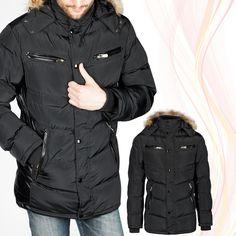 Stylische Winter Parka via Polyvore featuring outerwear, coats und parka coat