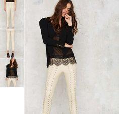 Colanti Piele Cu Fermoar Capri Pants, Suits, Fashion, Moda, Capri Trousers, Fashion Styles, Suit, Wedding Suits, Fashion Illustrations