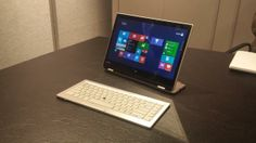Toshiba shows off a new take on the detachable hybrid | CES 2014: Computers and Hardware - CNET Blogs