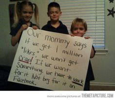 Parents doing it right…