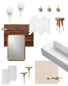 You might get by with altering just a few small products such as a toothbrush holder, wastebasket, and window curtain ties. Plan ahead when buying restroom items to find ways to accommodate the seasons without emptying your pocket book each time. Kids Bathroom Art, Modern Bathroom Decor, Small Bathroom, Modern Decor, Family Bathroom, Brass Furniture Legs, Simple Furniture, Ikea Furniture, Furniture Stores