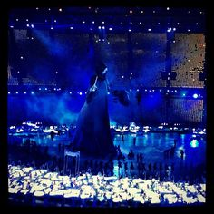 Voldemort @ Opening ceremony #london2012 #olympics Photo by artrossi • Instagram